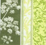 OS 145 AMBIENTE-ubrousek 33x33 - zelený mix