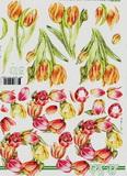 3D papír - tulipán věnec č. 394