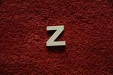 2D výřez písmeno Z v.cca 2,4cm