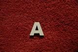 2D výřez písmeno A v.cca 2,4cm
