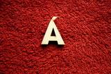 2D výřez písmeno Á v.cca  2,4cm