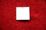 2D výřez přívěsek čtverec 4x4cm