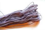 Voskovaná šňůrka fialková - cena za 1m