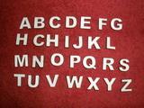 2D výřez písmeno E v.cca   1,7cm