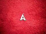 2D výřez písmeno Á v.cca 1,7cm