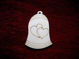 2d v��ez zvonek rovn� 2srd��ka V-v.8,3x5,7cm