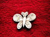 2D výřez motýlek č.3 - v.3,5x4,7cm