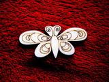 2D výřez motýlek č.4 - v.3x6cm