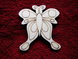 2D výřez motýlek č.5 - v.7x6cm