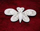 2D výřez motýlek č.4 - v.7,2x14,5cm