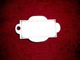 Jmenovka na dárky č.6 - 7,2x4,8cm