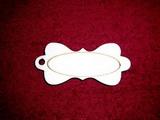 Jmenovka na dárky č.8 - 8,4x4cm