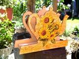 Stojánek na ubrousky slunečnice