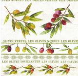 OL 019 - ubrousek 33x33 - olives