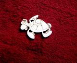 2D výřez želva- cca v.4x5cm