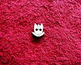 2D v��ez - knofl��ek tulip�n-1,8x1,5cm