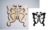 Razítko překližka motýl vyř.-v.10,5x10cm