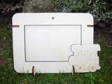 2v1 rámeček na šířku fota 10x15cm -MAŠINKA