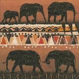 ET 009 - ubrousek 33x33 - etno sloni