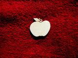 2D výřez ván.ozdoba jablko-v.3,3x3,7cm-cena za 10ks