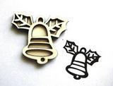 Razítko překližka zvoneček-v.5,2x6cm
