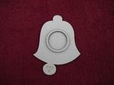 Stojánek na čajovou svíčku zvon jed.-v.13,4x10,4cm