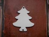 2D výřez ván.stromek na ozdobu v. 8x6,9cm