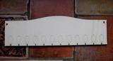 *2D výřez deska oblouček k rod.kalendáři- 10x33,6cm
