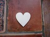 2D výřez srdce č.1 - 2x2cm