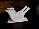 Stojánek na ubrousky ptáček pod. v. 11,6x15,5cm