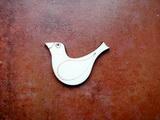 2D výřez ptáček čistý č.2- cca v.3,4x4,8cm