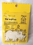 BAL-2D výřez nosorožec v. cca 6x10cm