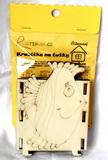 BAL-Krabička - stojánek na tužky RYBA - 10,5x v.13,5x9cm