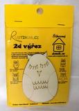 BAL-2D výřez sova vajíčko-v.10x6,8cm