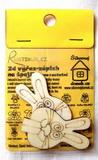BAL-2D výřez na špejli zajíc-v.6,2x3,7cm-2ks v balení