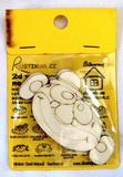 BAL-2D výřez na špejli klaun--v.4,9x8,7cm- 2ks v balení
