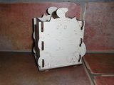 Krabička-stojánek na tužky kočka ležící v.14x12,6x9cm