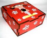 Montáž krabičky - šperkovnice na zámky