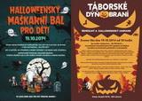 Táborské dýňobraní + halloweenský maškarní bál pro děti -19.10.214 od 10hod. Tábor-Střelnice