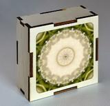 Dřevěná krabička s mandalou důvěry