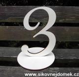 2D výřez číslo 3+podložka -v.15x10,5cm