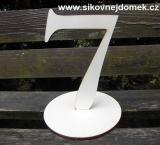 2D výřez číslo 7+podložka 15x9,7cm