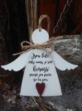 3D anděl Jsou lidé - v.14x17cm