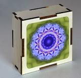Dřevěná krabička s mandalou uvolnění