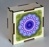 D�ev�n� krabi�ka s mandalou uvoln�n�
