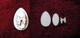 3D zápich na špejli vejce+mašle-3ks