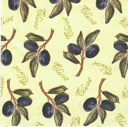 OL 015 - ubrousek 33x33 - olive - zvětšit obrázek