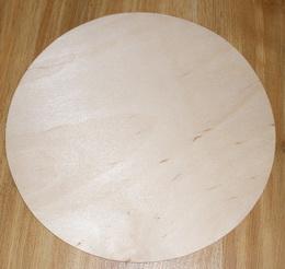 Prkénko kruh pr. 25cm - zvětšit obrázek