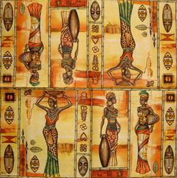 ET 025 - ubrousek 33x33 - ženy se džbánem - zvětšit obrázek