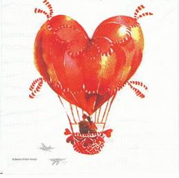 ZA 109 PPD - ubrousek 33x33 - láska... - zvětšit obrázek